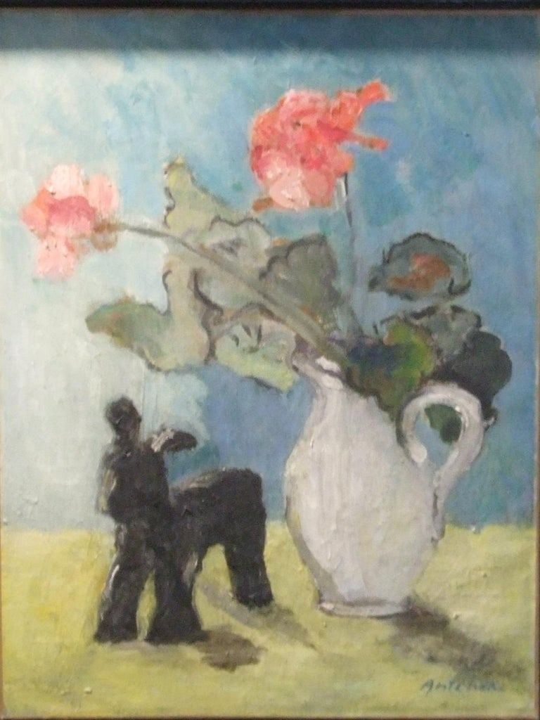 Nature morte - Painting by Isaac Antcher