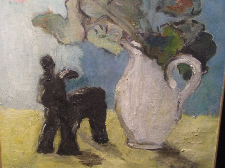 Nature morte - Black Figurative Painting by Isaac Antcher