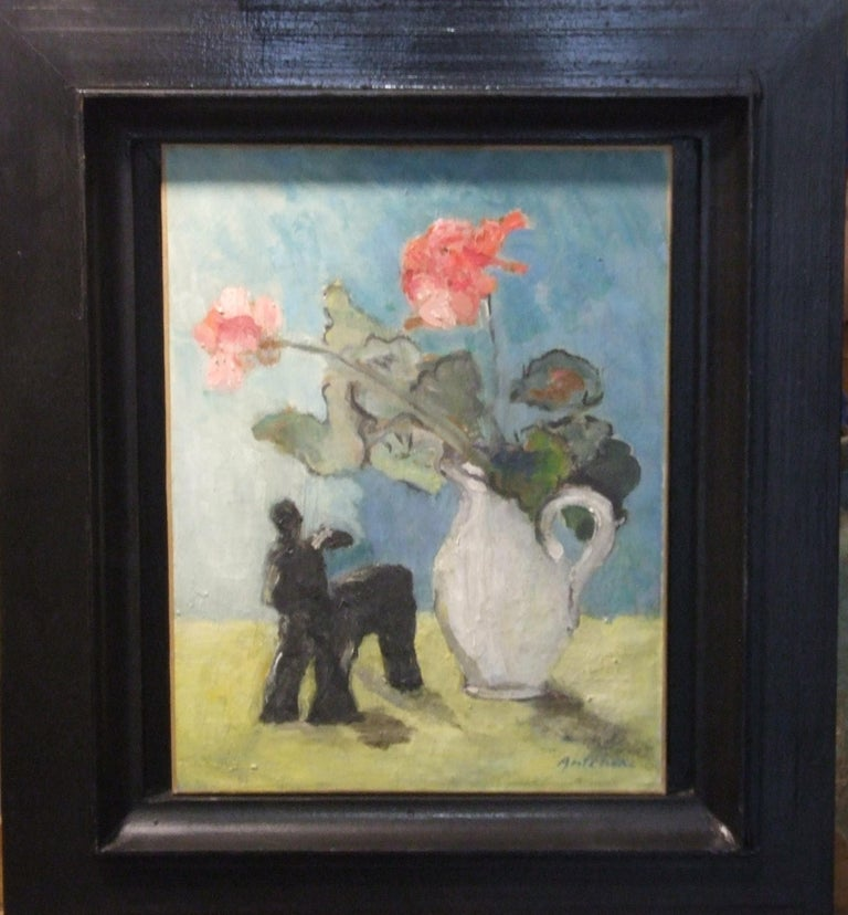Isaac Antcher Figurative Painting - Nature morte