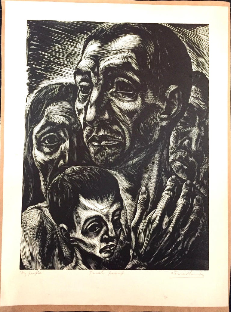 My People - Print by Isaac Friedlander