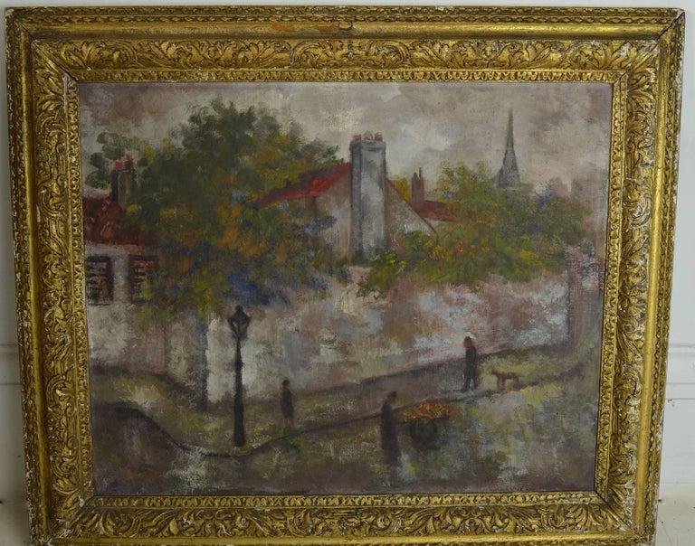 Other Isaac Lichtenstein, Paris Street Scene, 1924