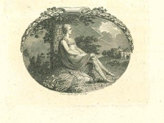 The Rest - Original Etching by Isaac Taylor - 1810