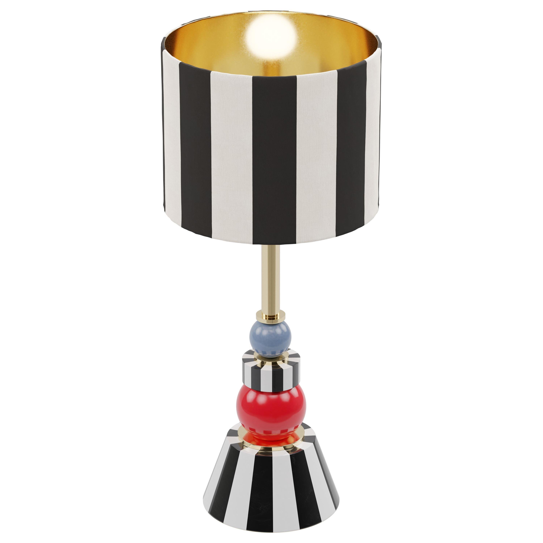 Isabel Brass Table Lamp, Royal Stranger
