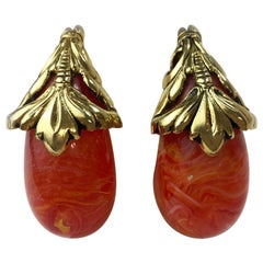 Isabel Canovas Clip Earrings