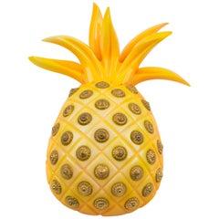 Isabel Canovas Yellow Pineapple Resin Pin Brooch