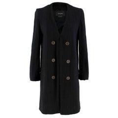 Isabel Marant Black Knit Longline Cardigan 38