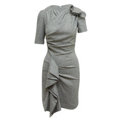 Isabel Marant Black & White Short Sleeve Dress