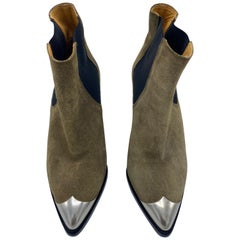 Isabel Marant Brown Suede Boots, Size 38