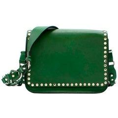 Isabel Marant Calibar Green Shoulder Bag 22cm
