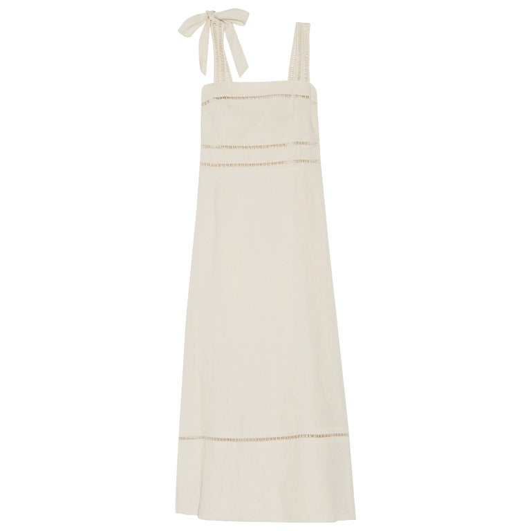 9458bf7a0d8 Isabel Marant Reign Linen and Cotton-Blend Dress For Sale at 1stdibs