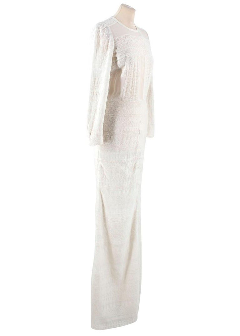 ac018d3909d Isabel Marant White Maxi Dress US 0-2 For Sale at 1stdibs