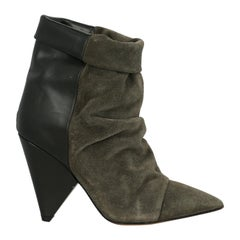 Isabel Marant Woman Ankle boots Black Leather IT 38