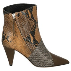 Isabel Marant Woman Ankle boots Brown Leather IT 37