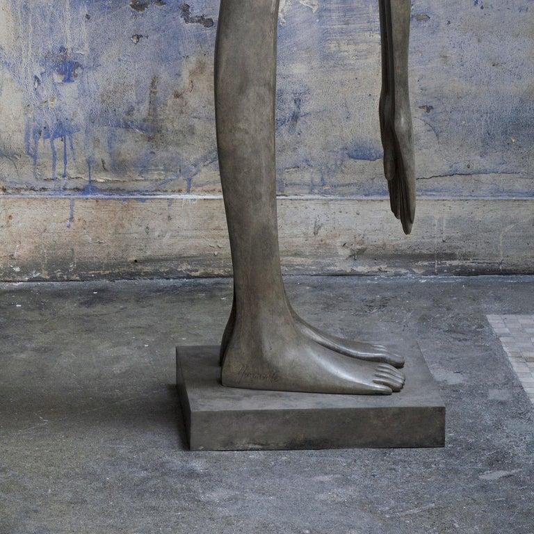 Bout du Monde - Debout - Contemporary Sculpture by Isabel Miramontes