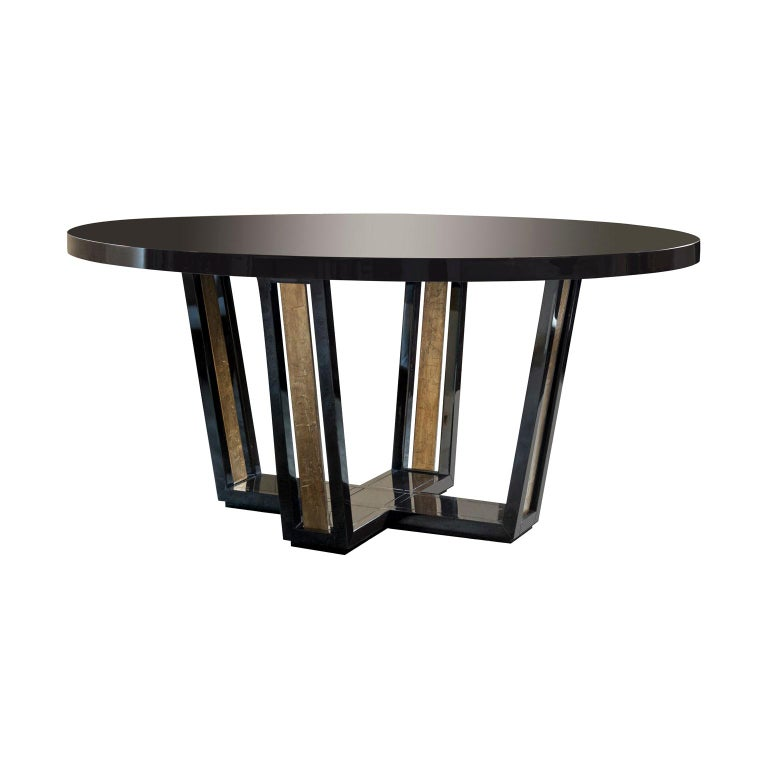 Isabella Costantini, Italy, Cleofe Oval Dining Table For Sale