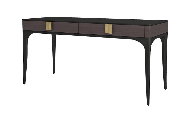 Modern Isabella Costantini, Italy, Dalia Desk with Two Drawers For Sale
