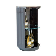Isabella Costantini, Italy, Duilio Drink Cabinet with Casters