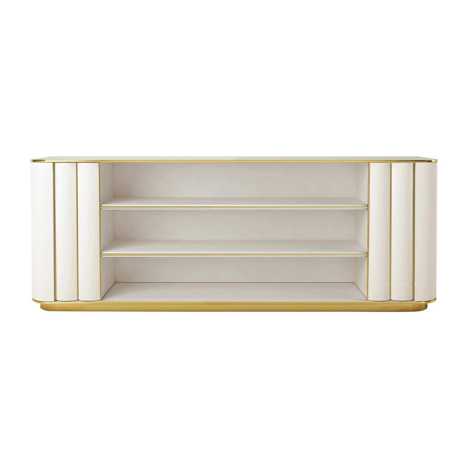 Isabella Costantini, Italy, Duilio Low Bookcase with Two Doors