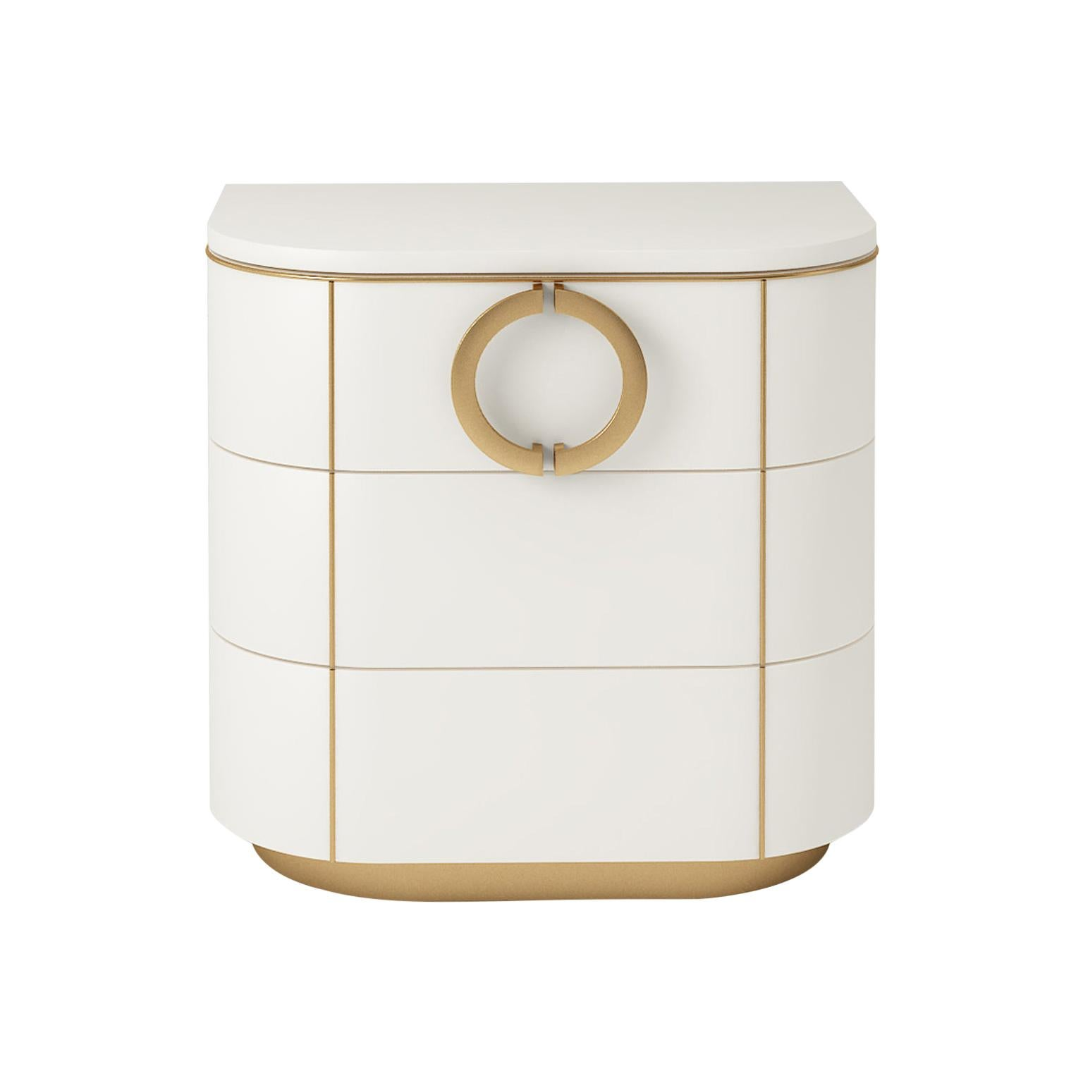 Isabella Costantini, Italy, Maddalena Nightstand with Three Drawers