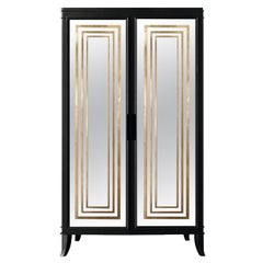 Isabella Costantini, Italy, Olimpia Armoire D45 Mirrored Doors
