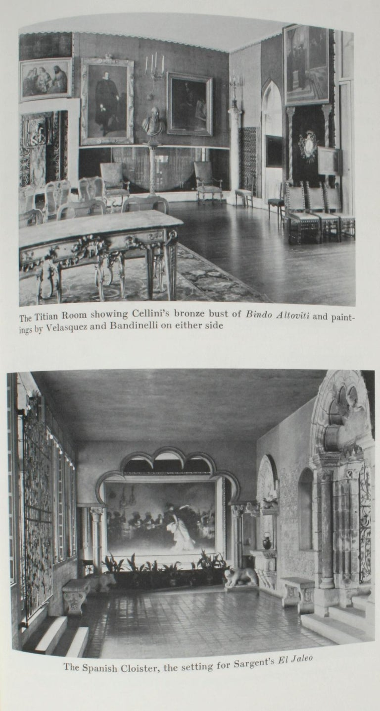 Isabella Stewart Gardner and Fenway Court by Morris Carter For Sale 8