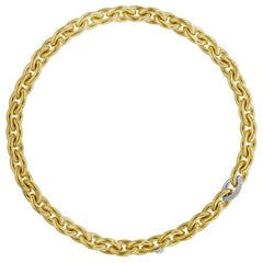 Isabelle Fa Diamond 18 Karat Yellow Gold Chain Necklace