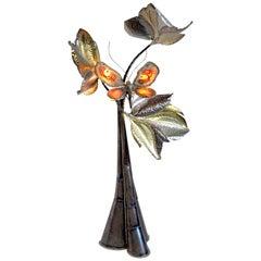 """Isabelle Faure, Sculpture """"Arbre au Papillon"""", France, 1980"""