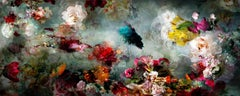 Song for dead heroes #3 large abstract floral landscape colorful photo
