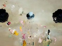 Tentation #4 Floral landscape soft pastel color contemporary photograph