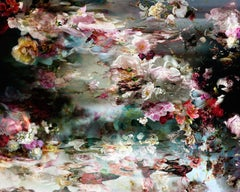 There's a river in my head #3- Floral still life contemporary photograph