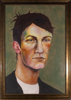 Isabelle Mulvany - Contemporary Acrylic, Portrait Of A Young Man