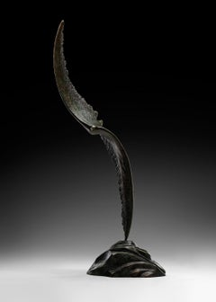 Aella - Bronze Sculpture of Flying Bird