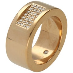 IsabelleFa Pavé Diamonds Gold Fashion Ring