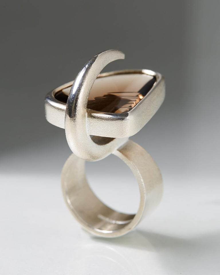 """Women's or Men's """"Isamo"""" Ring Designed by Björn Weckström for Lapponia, Finland, 2008 For Sale"""