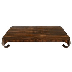 Isamu Kenmochi Brazilian Rosewood Coffee Table for Tendo Mokko