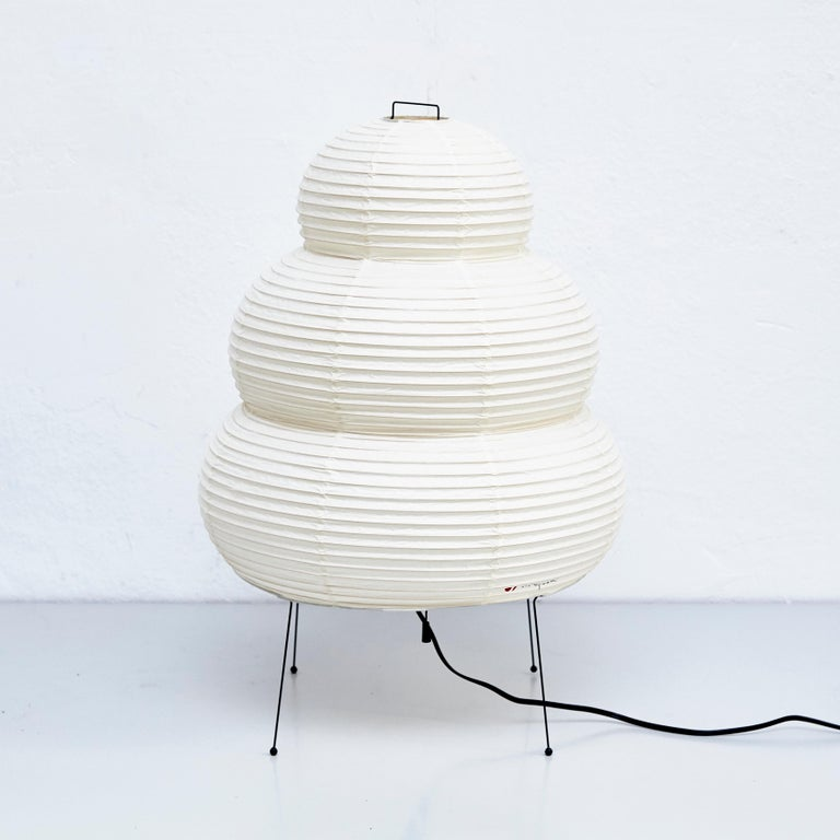 Ceiling lamp, designed by Isamu Noguchi.