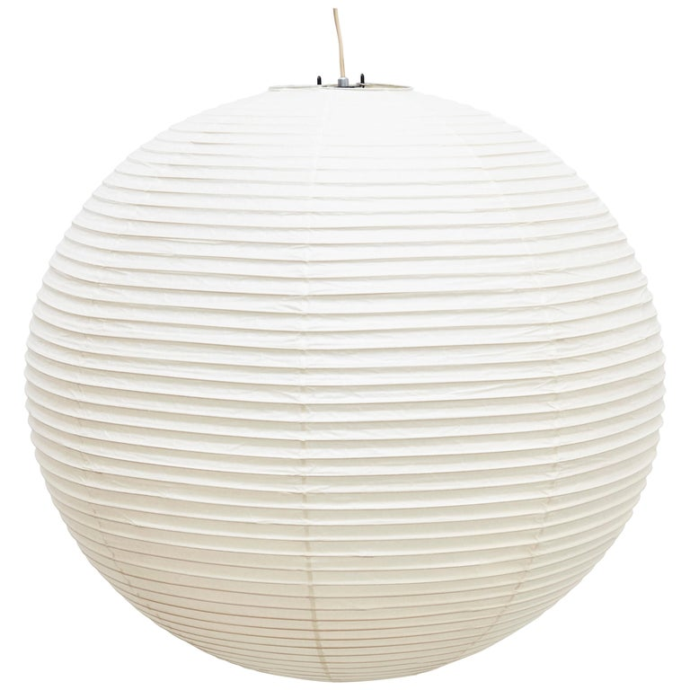 Isamu Noguchi 55A Ceiling Lamp For Sale at 1stdibs