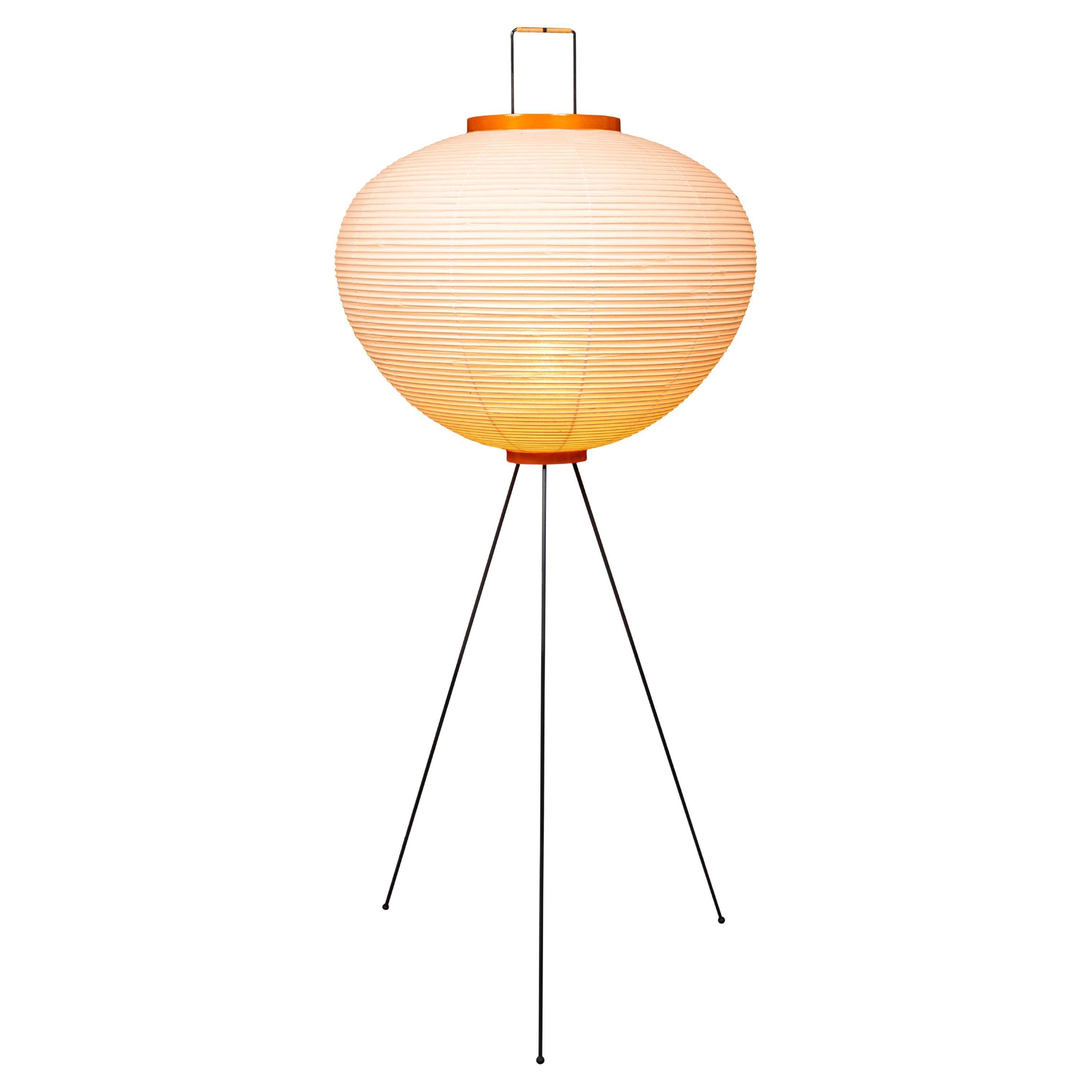 Isamu Noguchi Akari 10A Floor Lamp with Stamped Signature