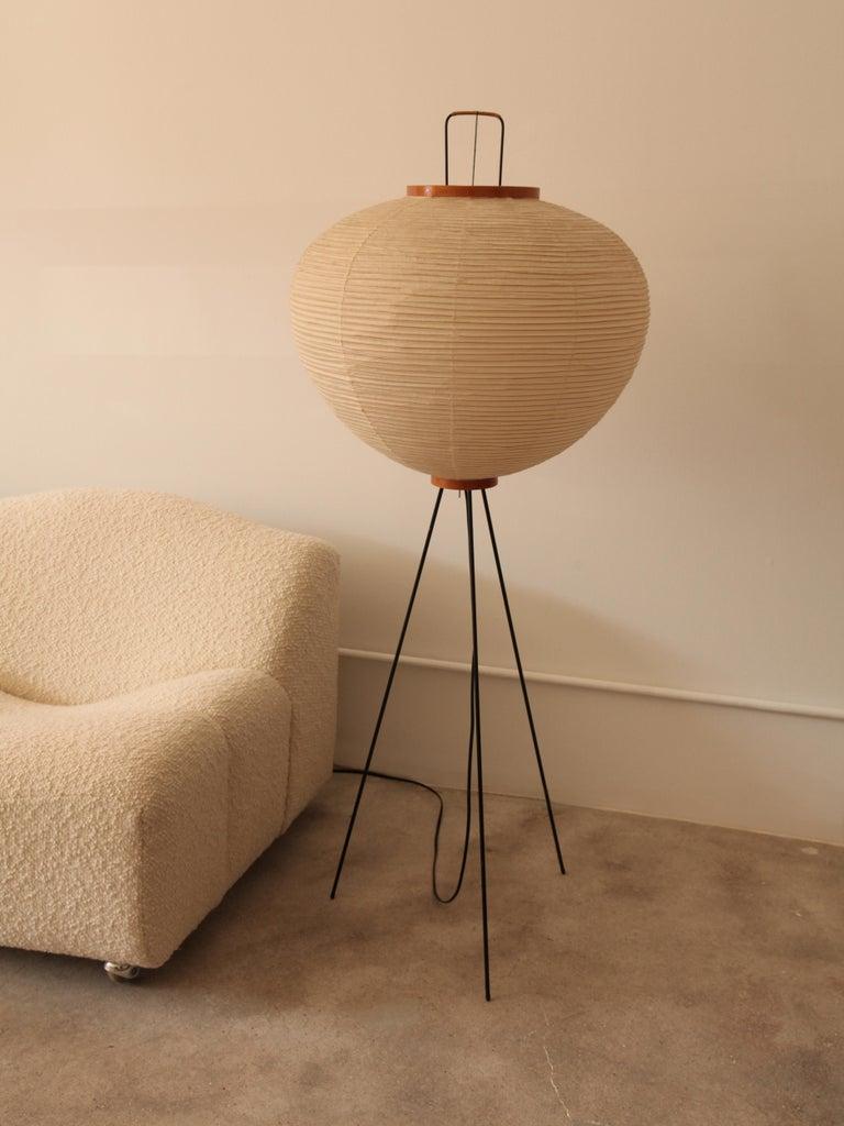 Isamu Noguchi, Akari Mod 10A Floor Lamp, circa 1960s at ...