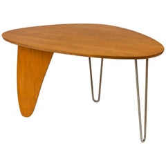 "Isamu Noguchi Birch and Steel ""Rudder"" Dining Table for Herman Miller, USA, 1944"