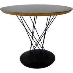 Isamu Noguchi for Knoll Black Top Cyclone Side Table