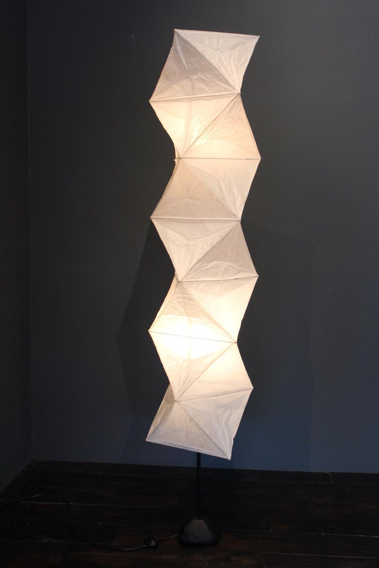 Isamu Noguchi L8 Floor Lamp In Good Condition For Sale In Dallas, TX