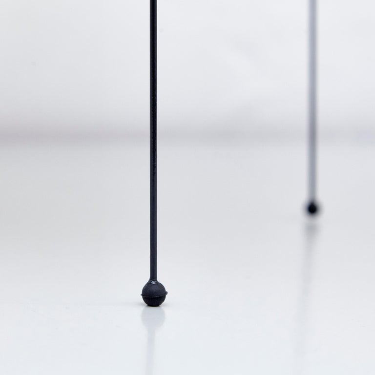 Isamu Noguchi Mid-Century Modern Akari Bamboo Washi Paper Floor Lamp 22N For Sale 1