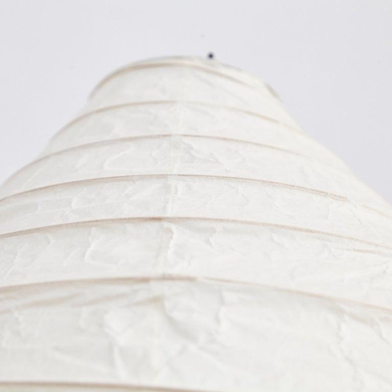 Isamu Noguchi Mid-Century Modern Akari Bamboo Washi Paper Floor Lamp 22N For Sale 2
