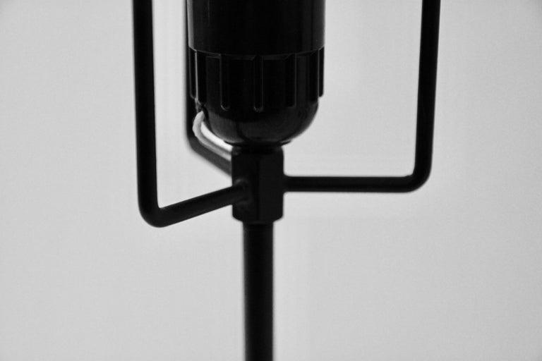 Isamu Noguchi, Table Lamp, Akari Model, Lacquered Metal ...