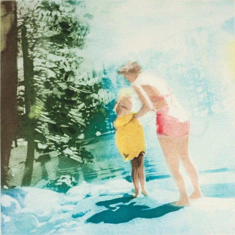 Isca Greenfield-Sanders Figurative Print - Pikes Peak