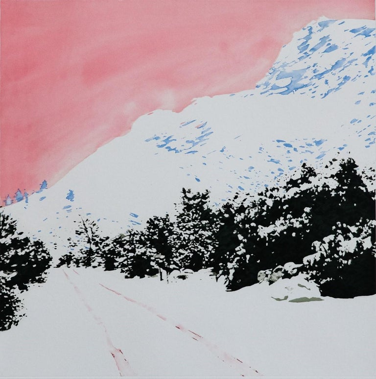 <i>Pink Mountain</i>, 2019, by Isca Greenfield-Sanders
