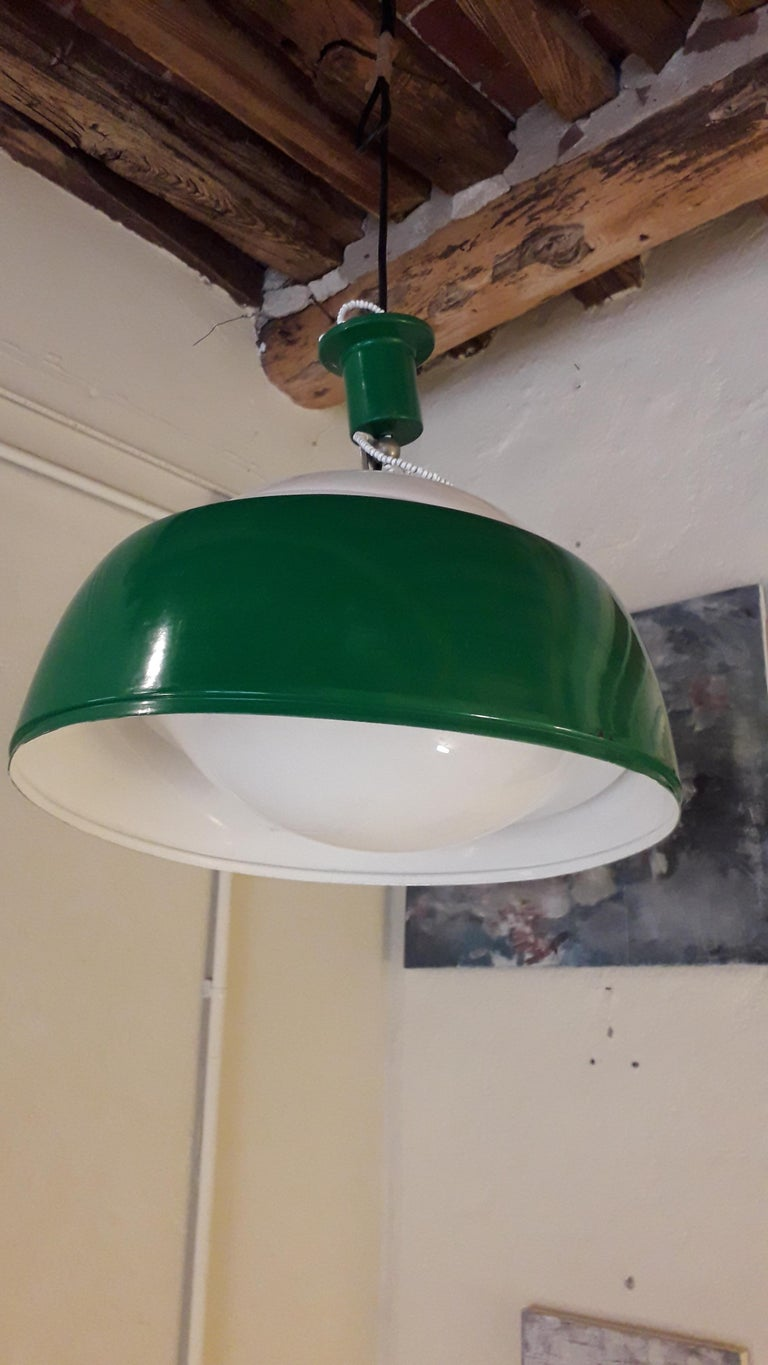 Lacquered Ischia Lighting by Pianon Alessandro, for Castle, Venezia Mid-Century Modern For Sale