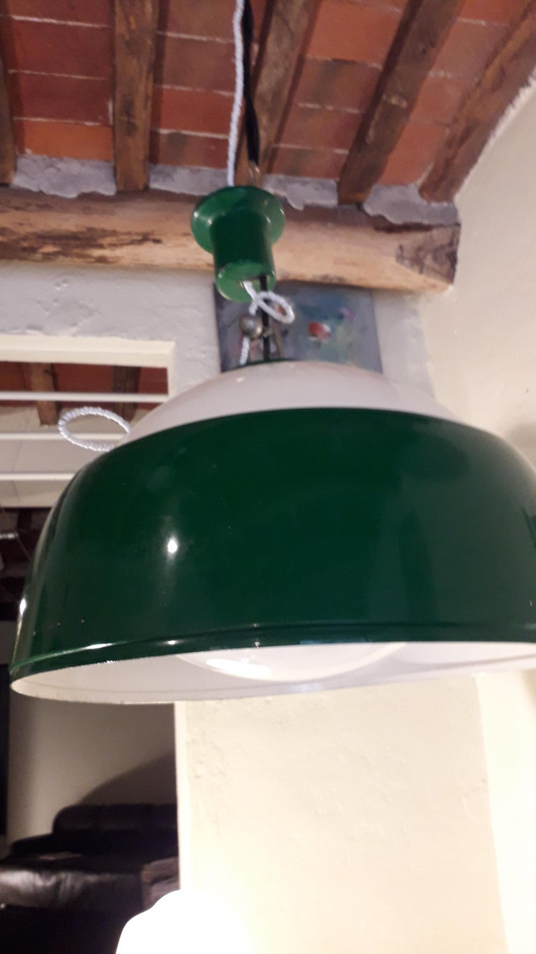 Ischia Lighting by Pianon Alessandro, for Castle, Venezia Mid-Century Modern In Good Condition For Sale In Tuscany, IT