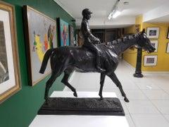 Jockey & Horse